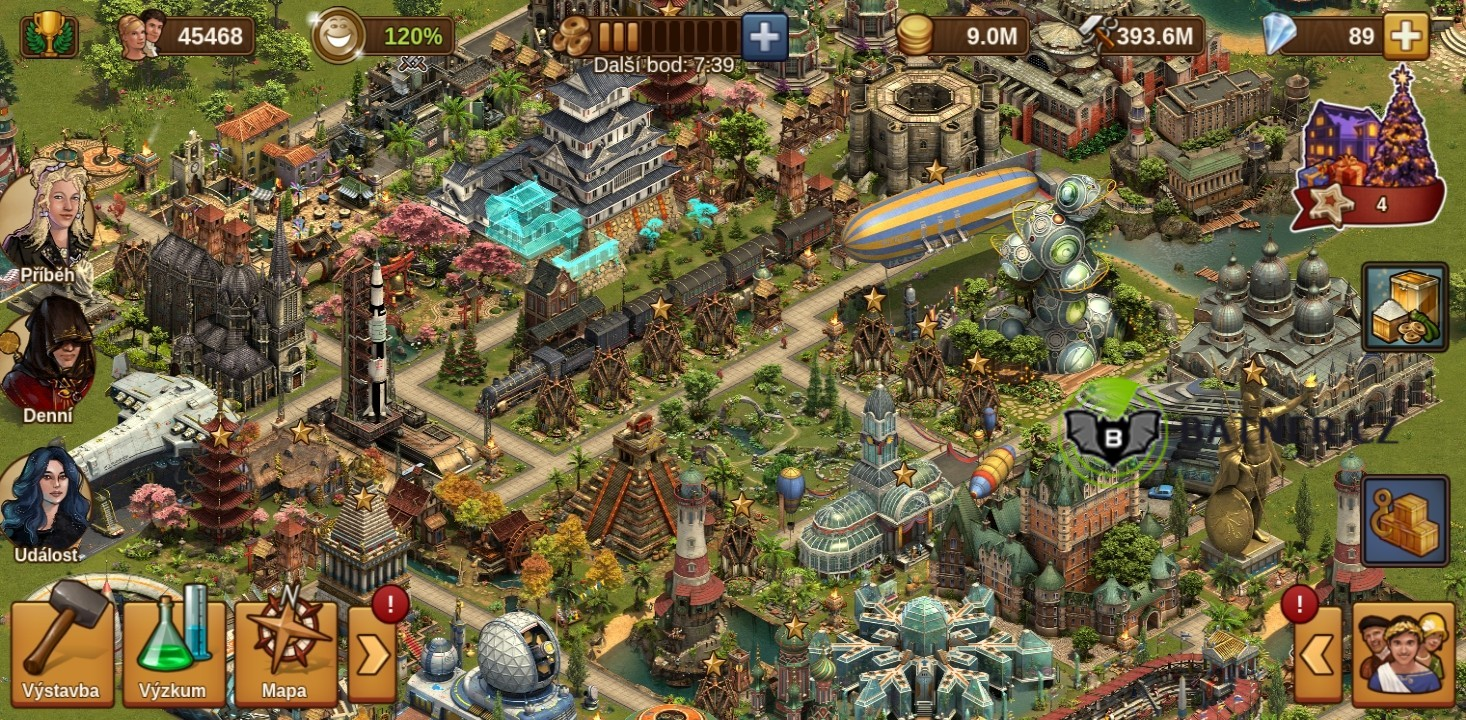 Herni ucet Forge of Empires