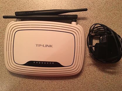 Wifi router TP - link
